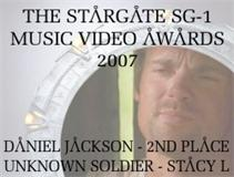 Second Place Winner of the 2007 Stargate Music Video Awards in the category of Daniel Jackson