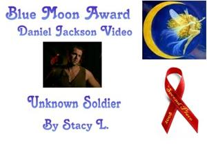 Second Place Winner of the 2008 Blue Moon Awards in the category of Daniel Jackson