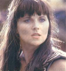 She was Xena a mighty princess forged in the heat of battle...